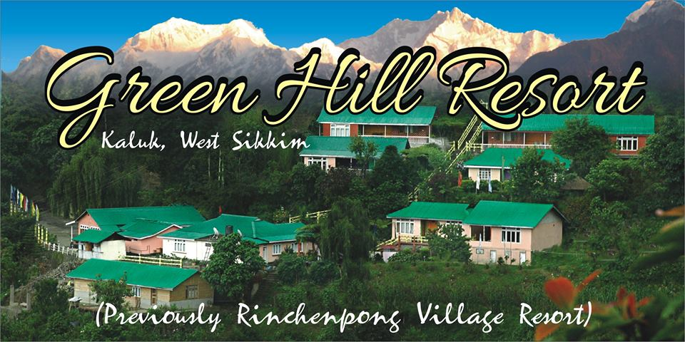 Green hill resort was previously Rinchenpong Village Resort